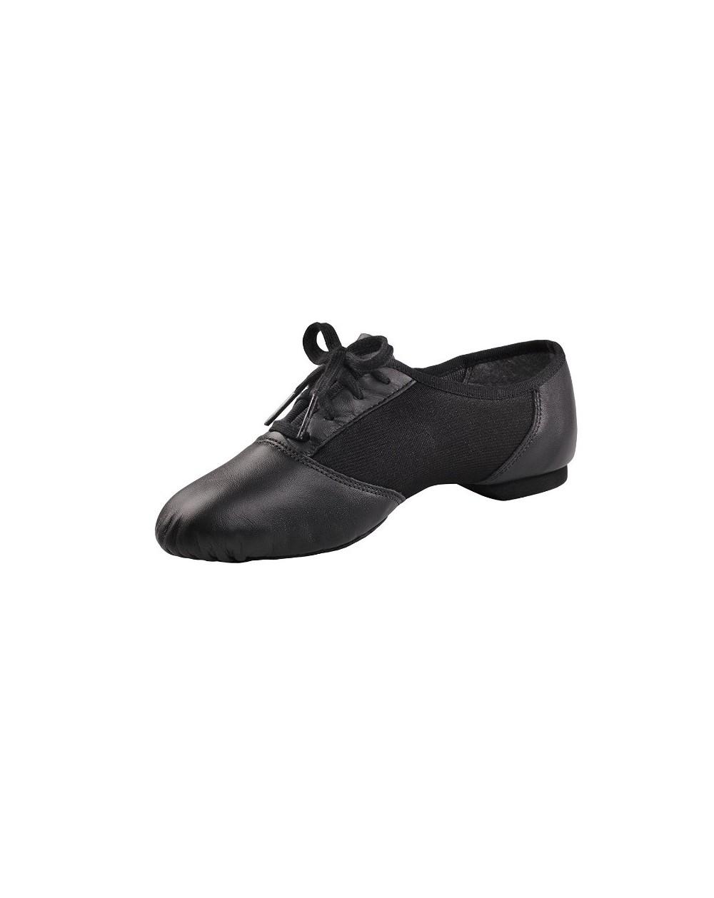 Chaussure bi-semelle cuir à lacets Capezio 458