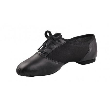 Chaussure bi-semelle cuir à lacets Capezio u458