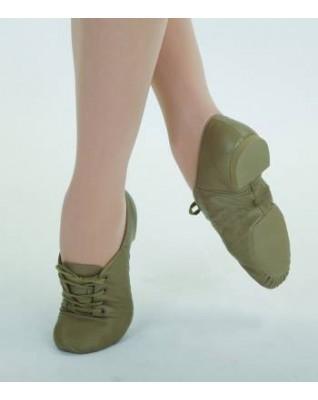 Chaussure bi-semelle cuir à lacets Capezio CG02