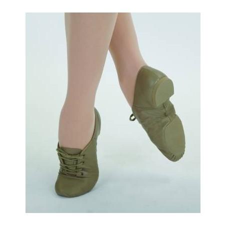 Chaussure bi-semelle cuir à lacets Capezio uCG02