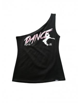 Top Danse une épaule Taille L