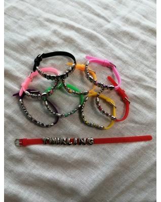 Bracelet Twirling Multicolore