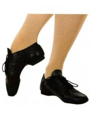 Chaussure bi-semelle cuir à lacet Capezio Ej1